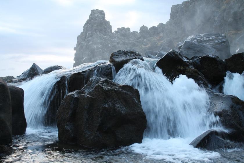 rocce di cascata